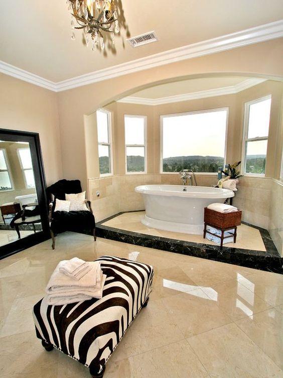 Decoracion Baños Tina:Decoracion de baño con tina (6)