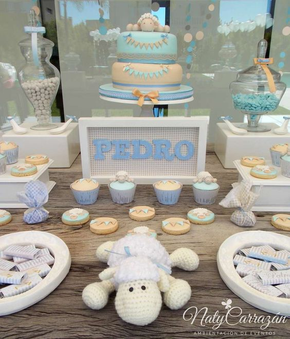 decoracion de baby shower para ni o