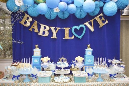 Decoracion de baby shower para niño | Curso de organizacion de ...