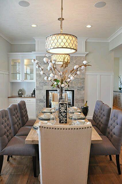Decoracion de comedores elegantes 1 for Ideas para decorar un comedor moderno