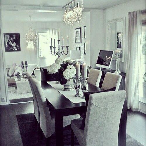 Decoracion de comedores elegantes (12) | Decoracion de interiores ...