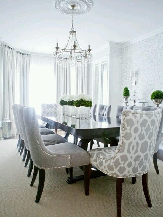 Decoracion de comedores elegantes | Decoracion de interiores ...