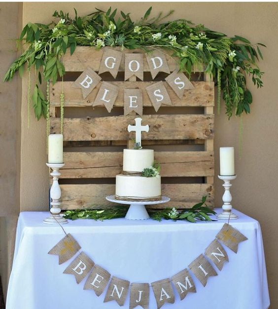 Decoration for child first communion