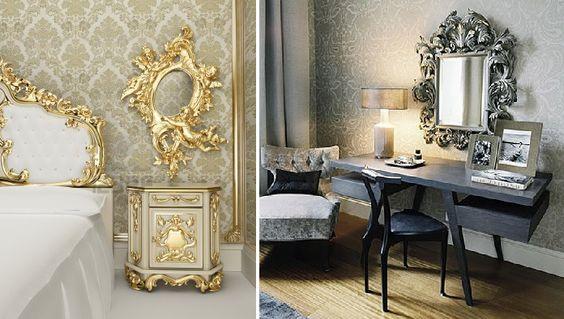 Elementos de la decoracion barroca 18 decoracion de Elementos de decoracion de interiores