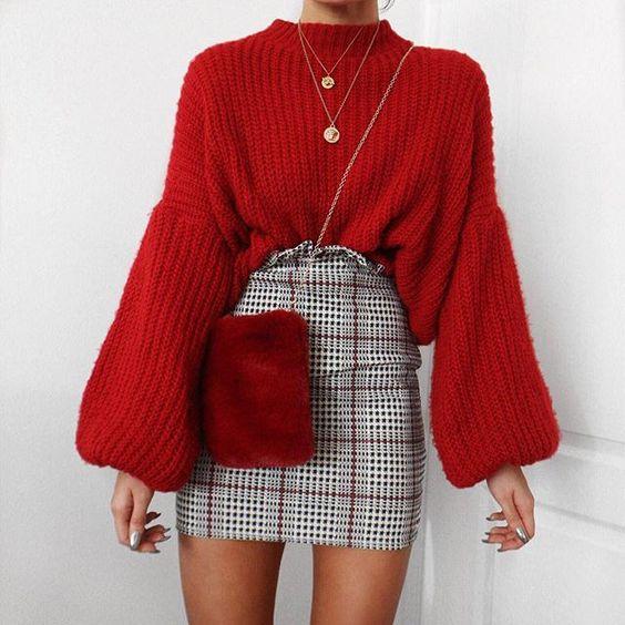 Faldas para otoño - invierno