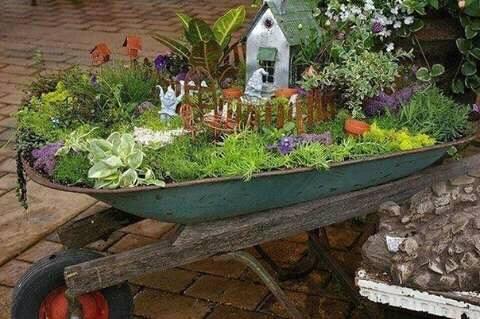 Ideas de jardines miniatura 15 decoracion de for Jardines en miniatura