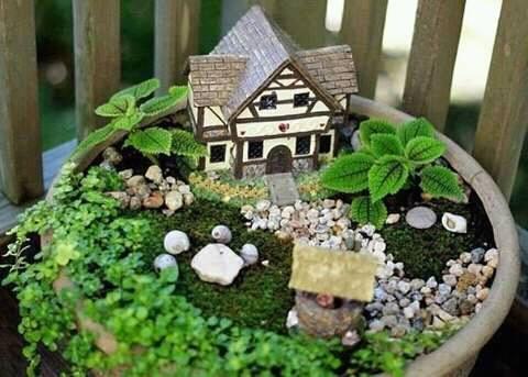 Ideas de jardines miniatura 19 decoracion de for Jardines en miniatura