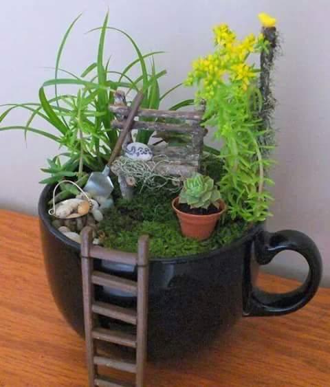 Ideas de jardines miniatura 20 Decoracion de interiores Fachadas