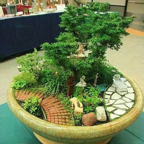 Ideas de jardines miniatura 22 decoracion de - Jardines zen miniatura ...