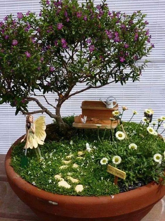 Ideas de jardines miniatura 29 decoracion de for Jardines japoneses en miniatura