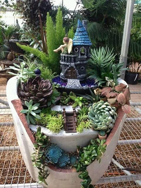 Ideas de jardines miniatura 9 decoracion de interiores for Organizar jardin exterior