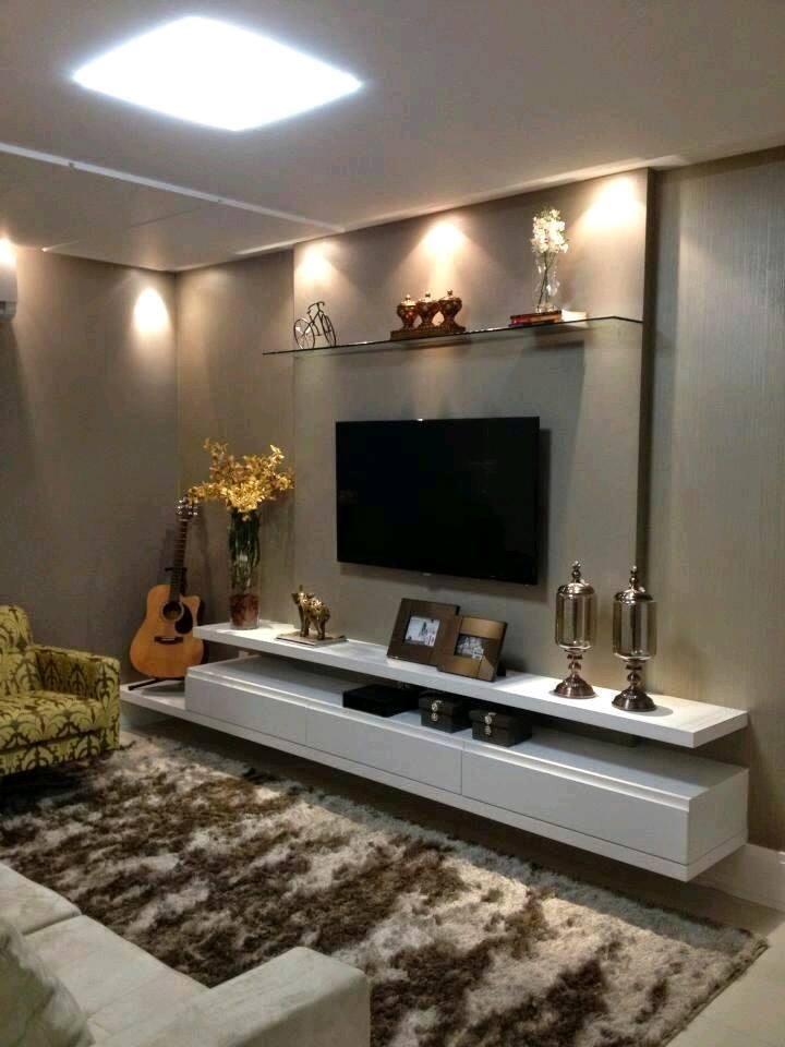 Ideas geniales para tu tv 23 decoracion de interiores - 20 ideas geniales para organizar tu casa ...