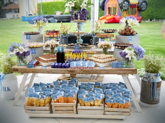 Ideas para candy bar salado 2 como organizar la casa - Ideas decoracion bar ...