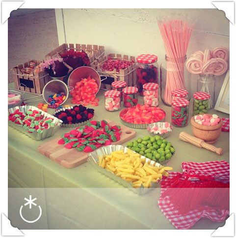 Ideas para candy bar salado 21 - Ideas para decorar mesas de chuches ...