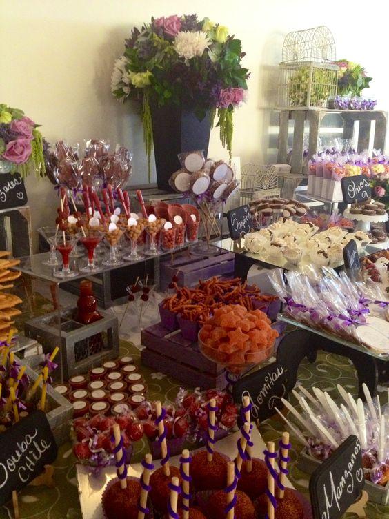 Matrimonio Rustico Tavolo : Ideas para candy bar salado decoracion de interiores