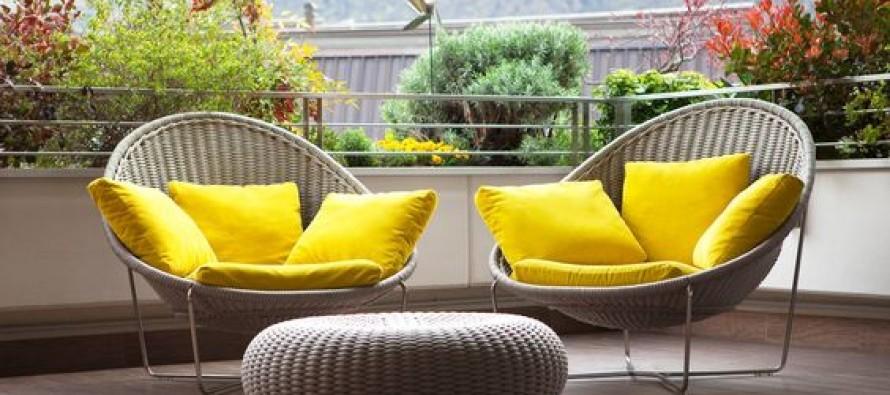 Ideas para decorar balcones modernos