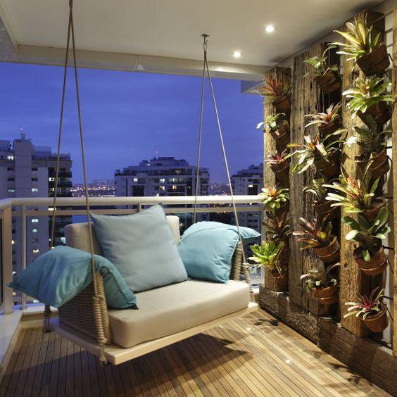 ideas para decorar balcones modernos - Decoracion Balcones