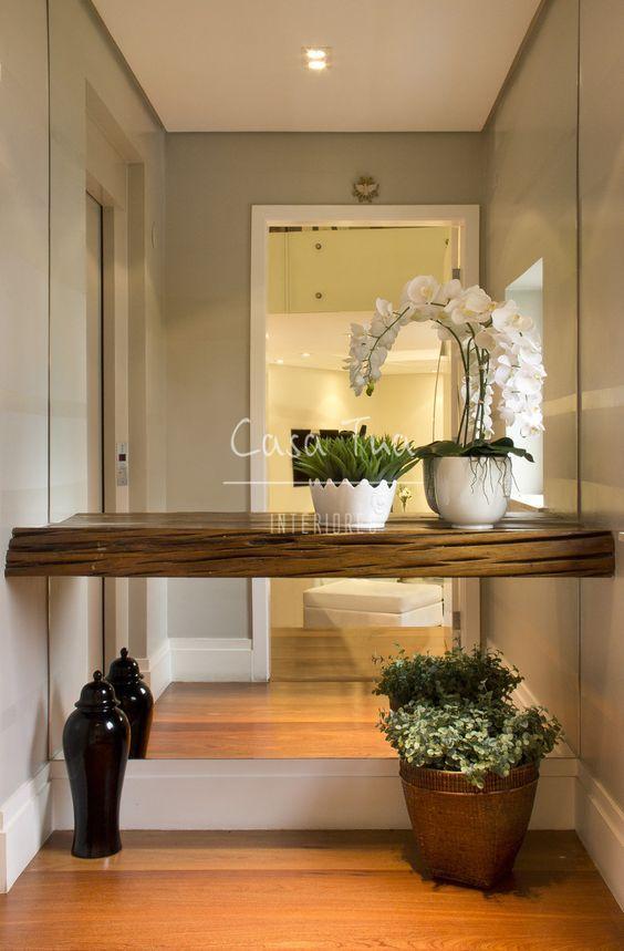 Ideas para entradas de tu casa 16 decoracion de - Ideas para decorar una entrada de casa ...