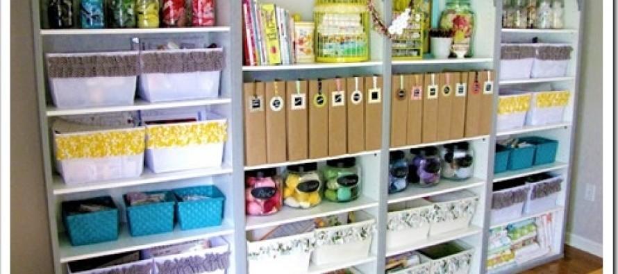 Ideas para organizar un area de costura