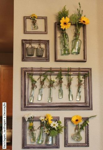Ideas para reutilizar cuadros viejos curso de organizacion de hogar aprenda a ser organizado - Ideas de cuadros ...
