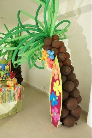 Ideas para una fiesta hawaiana 1 decoracion de interiores fachadas para casas como organizar - Fiesta hawaiana ideas decoracion ...