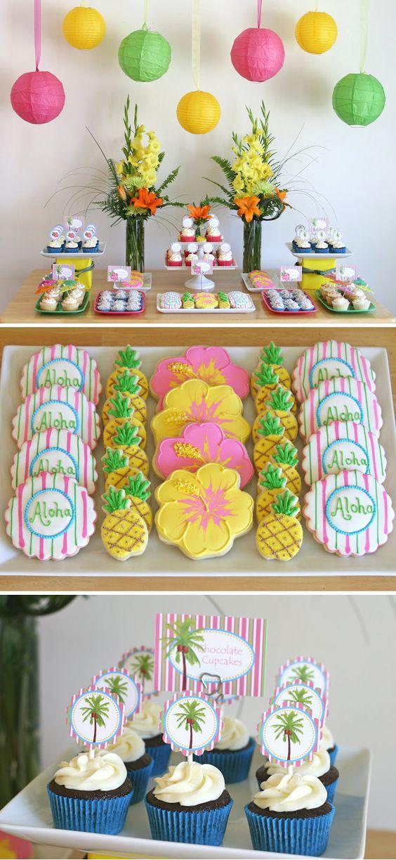 Ideas para una fiesta Hawaiana 25 Como Organizar la