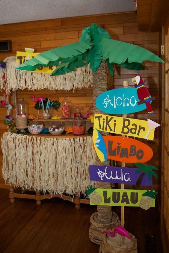 Ideas para una fiesta hawaiana 29 decoracion de for Ideas para la casa