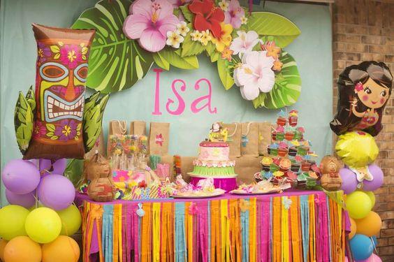 Matrimonio Tema Hawaiano : Ideas para una fiesta hawaiana decoracion de interiores