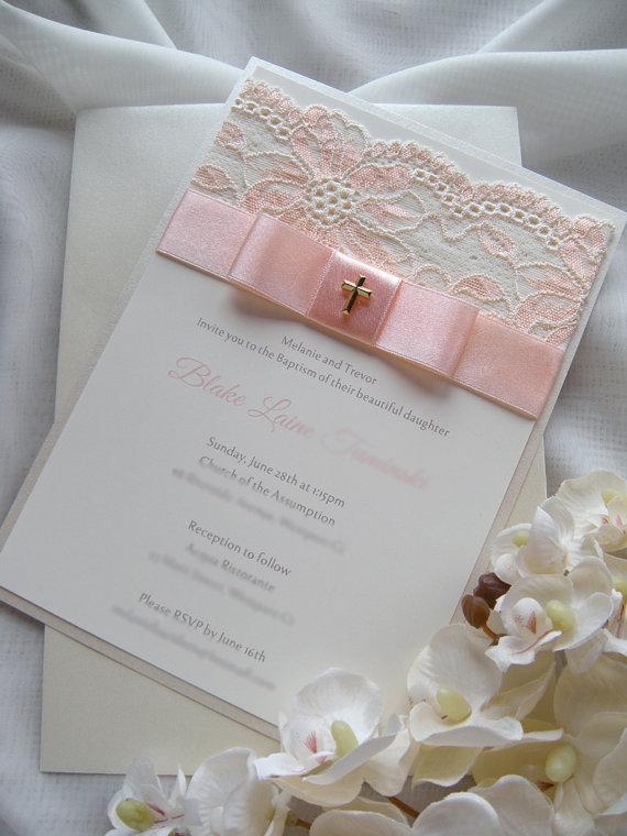 First Communion invitations (12)