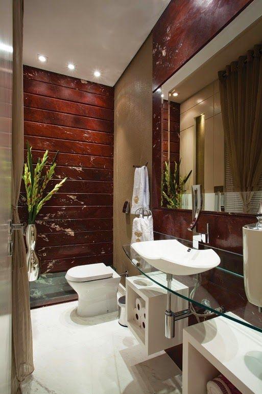 lavamanos modernos 3 decoracion de interiores fachadas On decoracion lavabos pequeños
