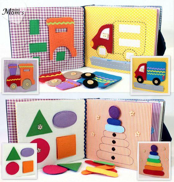 Diy ideas y patrones de libros de estimulacion para bebes for Bano ocupado en ingles