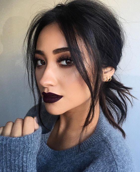 Maquillaje de labios para otono - invierno