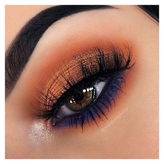 Maquillaje de ojos otoño - invierno
