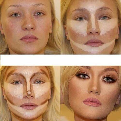 pasos maquillaje cara