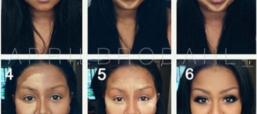 Maquillaje para chicas de cara redonda