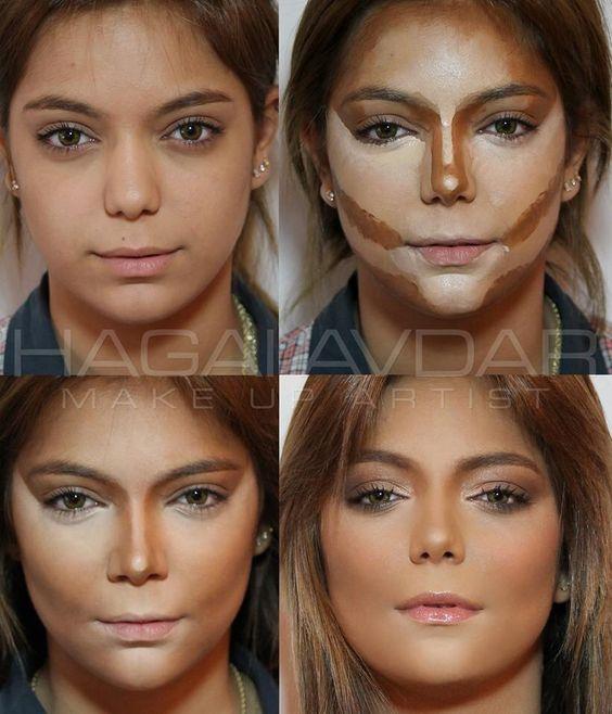 Maquillaje cara redonda for Cejas para cara cuadrada