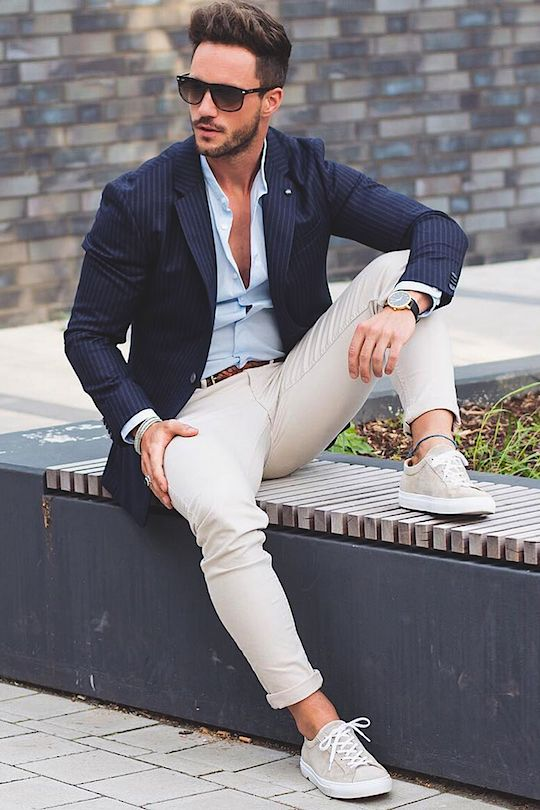 outfit de hombre de oficina
