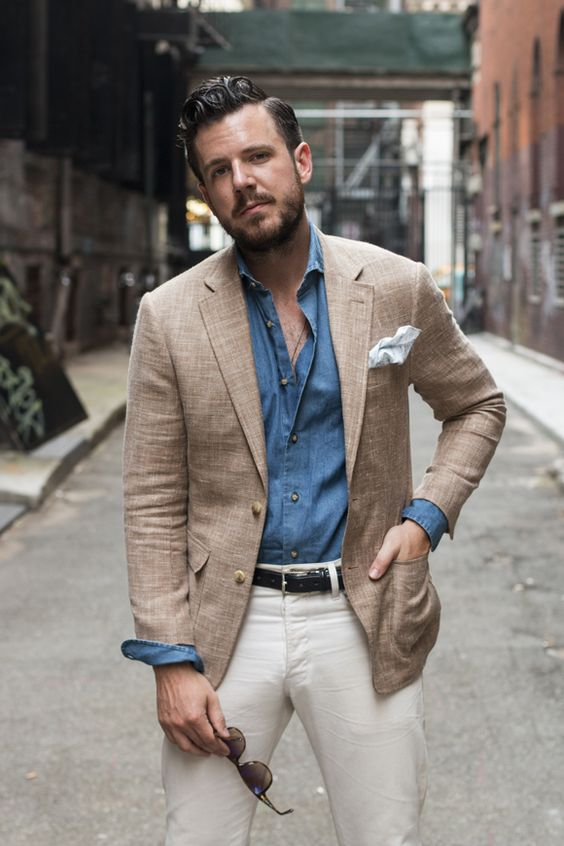 Outfits con blazer para hombre 20 decoracion de for Pantalones asiaticos