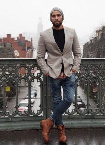 Outfits con blazer para hombre (3)