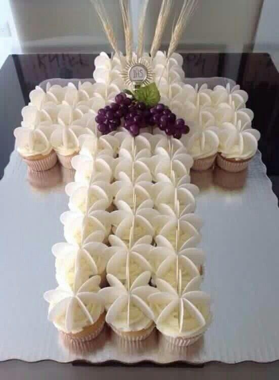 pasteles de primera comunion fotos