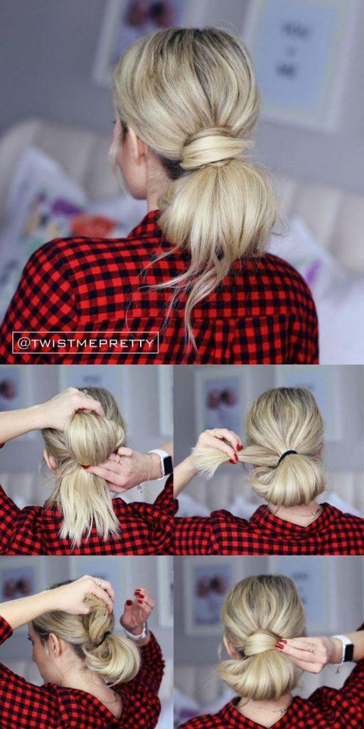 Peinados para madrina de bautizo (2)