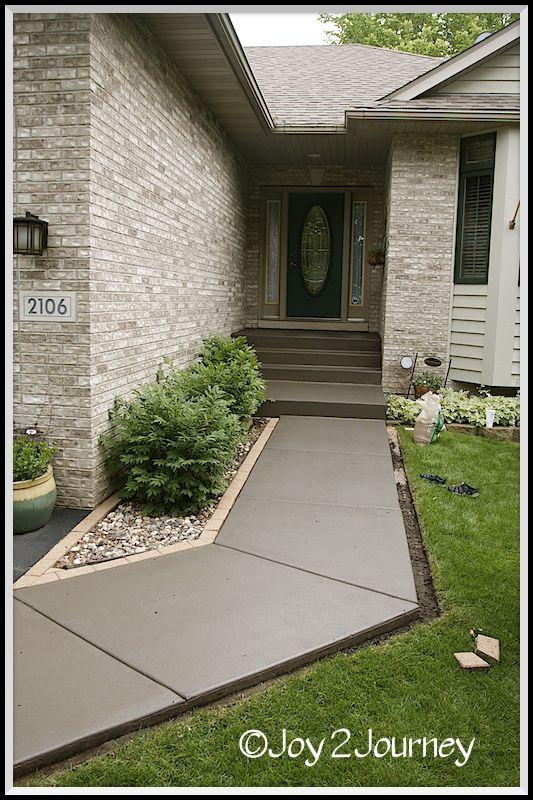 Pisos de concreto para exteriores 6 decoracion de - Decoracion de exteriores de casas ...