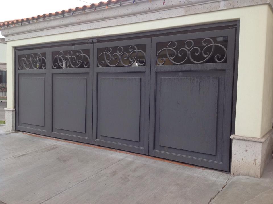 Tendencias en puertas de herreria 19 decoracion de - Puertas exteriores modernas ...