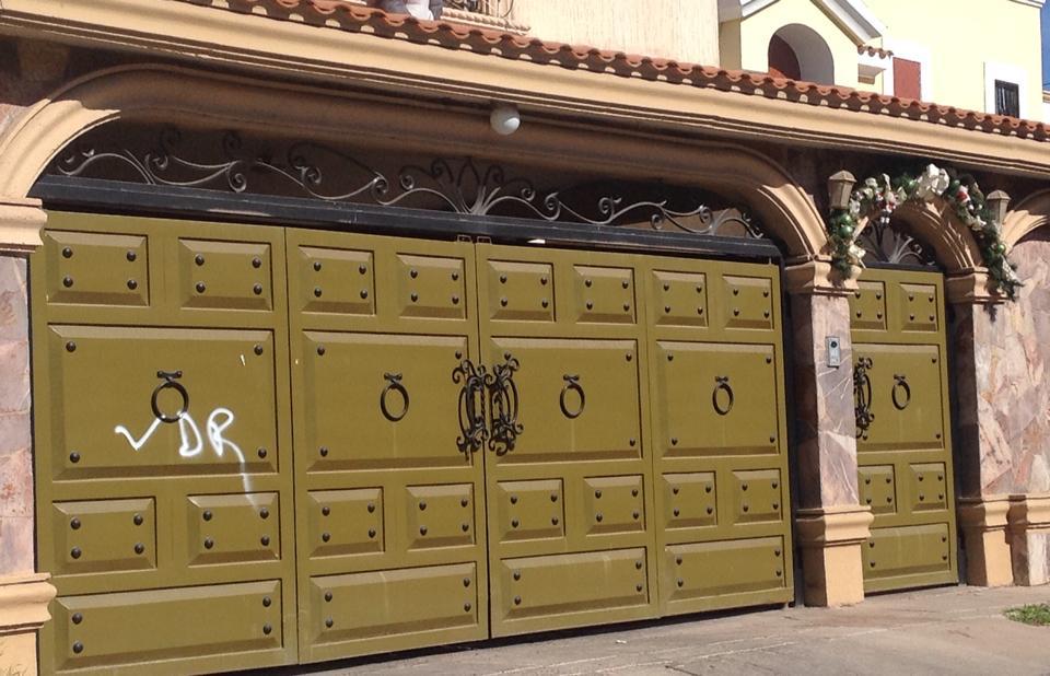 Tendencias en puertas de herreria 26 decoracion de for Puertas de herreria para casa