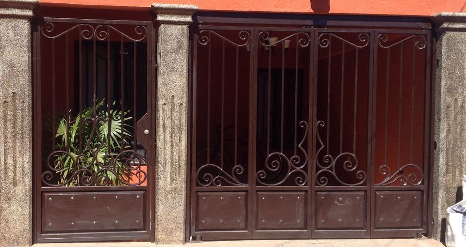 Tendencias En Puertas De Herreria 36 Decoracion De Interiores Fachadas Para Casas Como