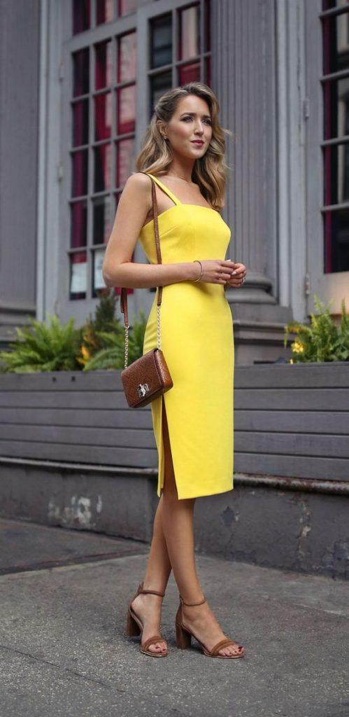 Vestidos amarillos (1)