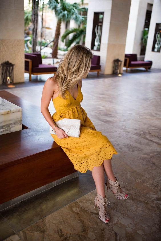 Vestidos amarillos (3)