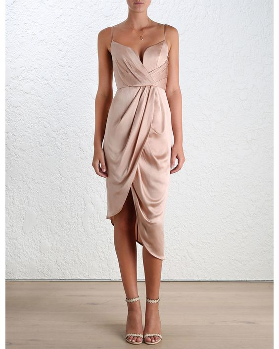 Vestidos color beige (2)