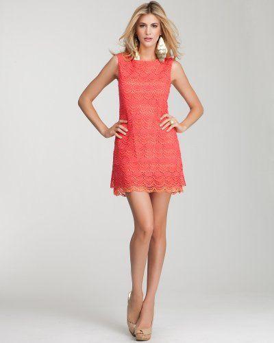 Vestidos color coral (3)