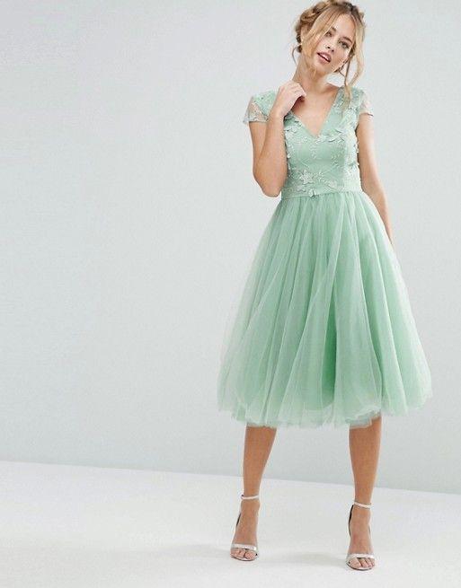 Vestidos color menta (3)